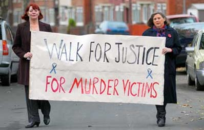 Barbara Dunne (Left) of Whinney banks and Joan McTigue